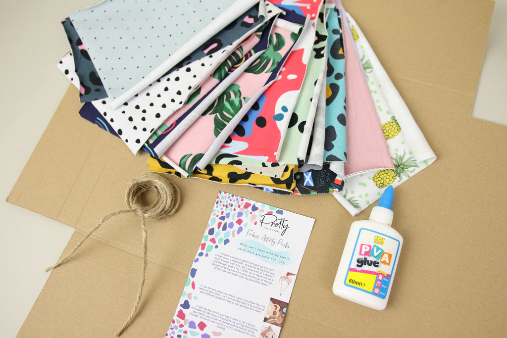 Small Fabric Activity Pack - Beat the Boredom!
