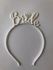 Bride Silver Crown