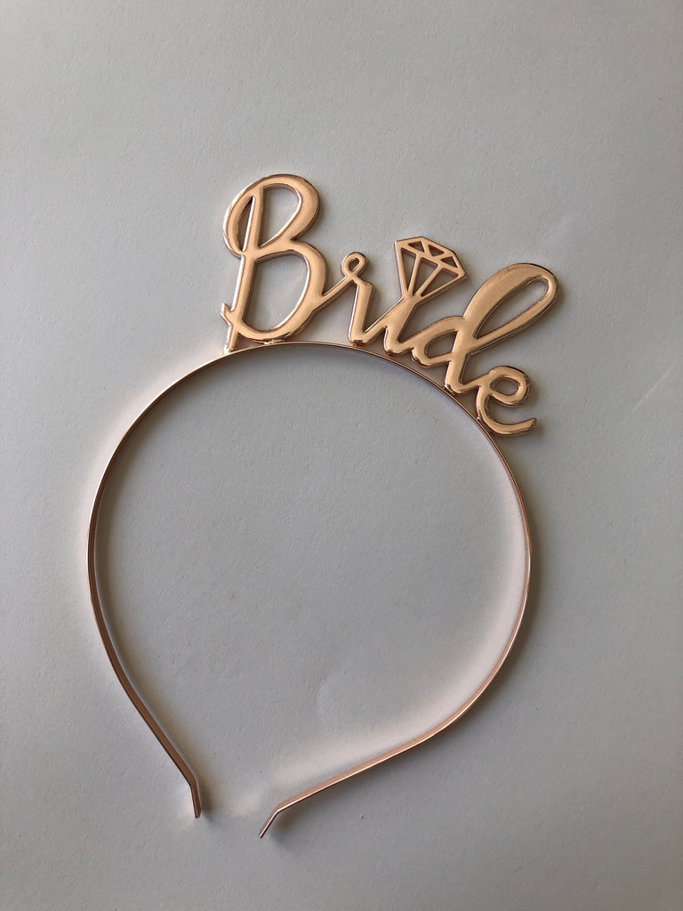 Bride Rose gold Crown