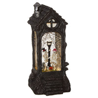 11.5 Inch Lighted Skeleton Water Lantern Battery Operated With Timer - 3840512-RAZ