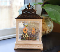 Birdhouse Outdoor Scene Water Lantern Battery Operated With Timer -2520850 - New 2021