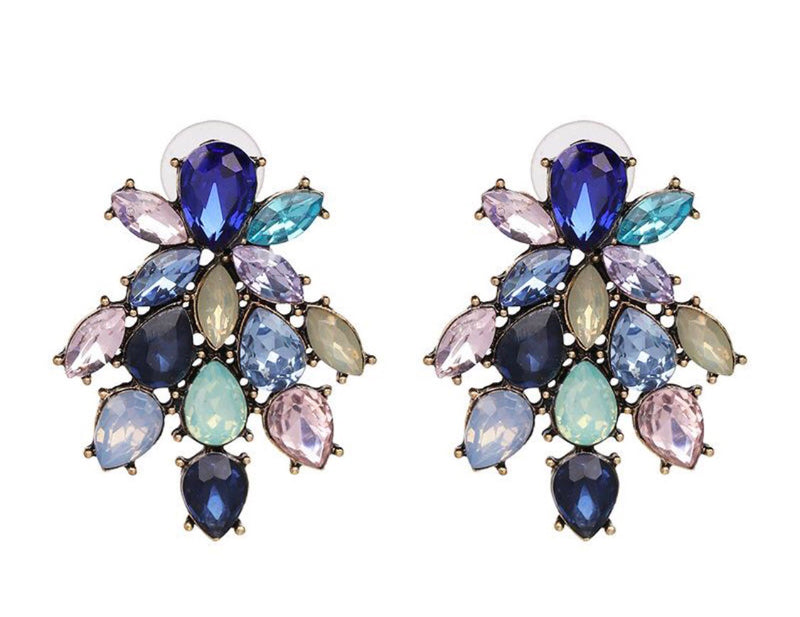 Kira Crystal Vintage Earrings
