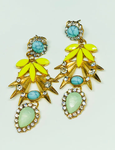 Summery Dangling Earrings