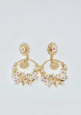 Visa Fleur Earrings (3 Colors)