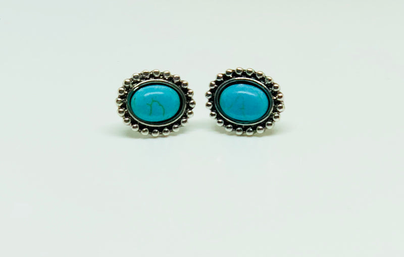 Keelan Aqua Earrings (2 Colors)