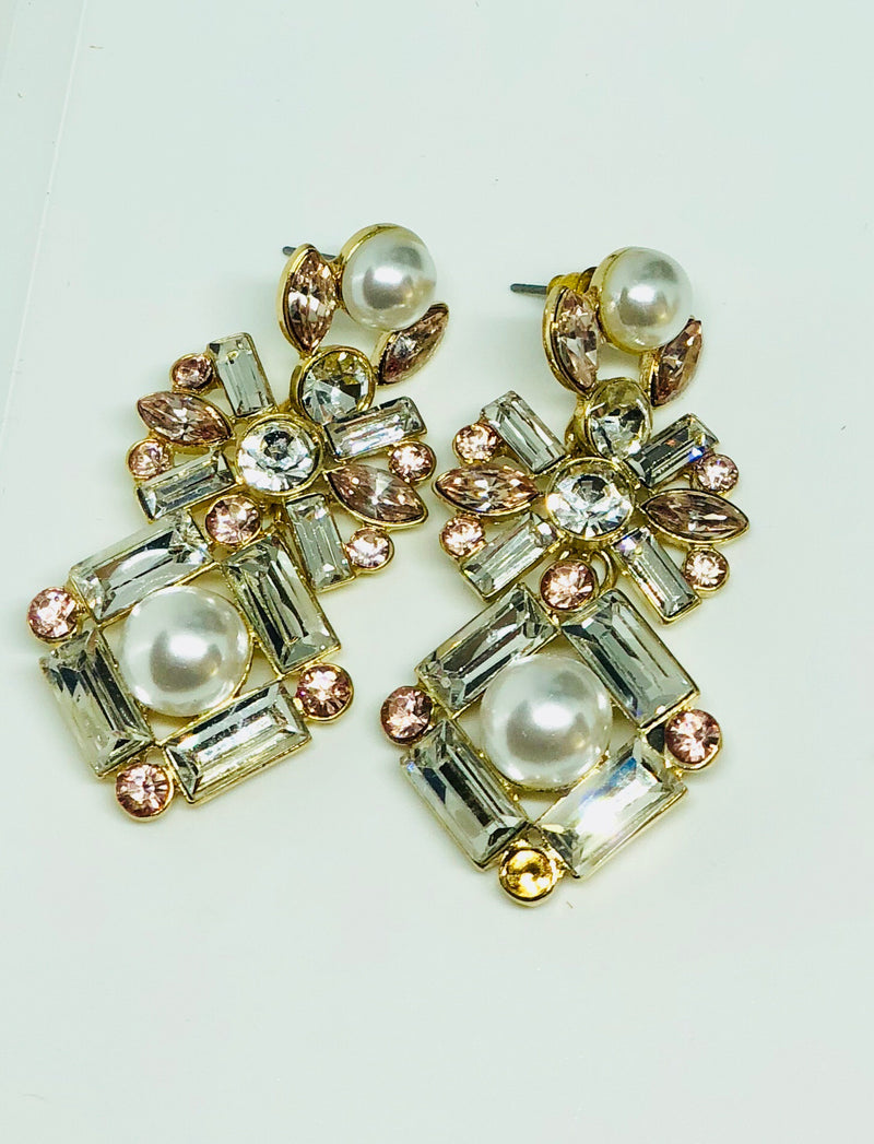 Ema Crystal Earrings