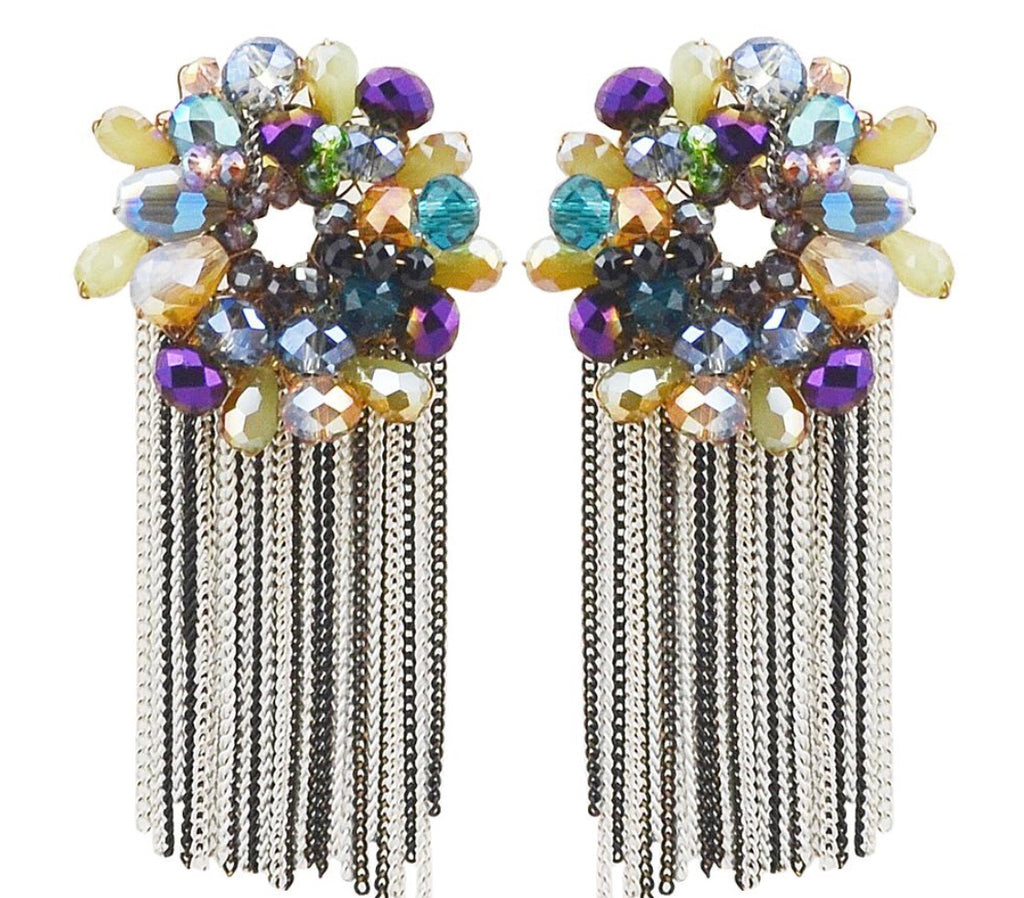 Alexy Dangle Chandelier Earrings