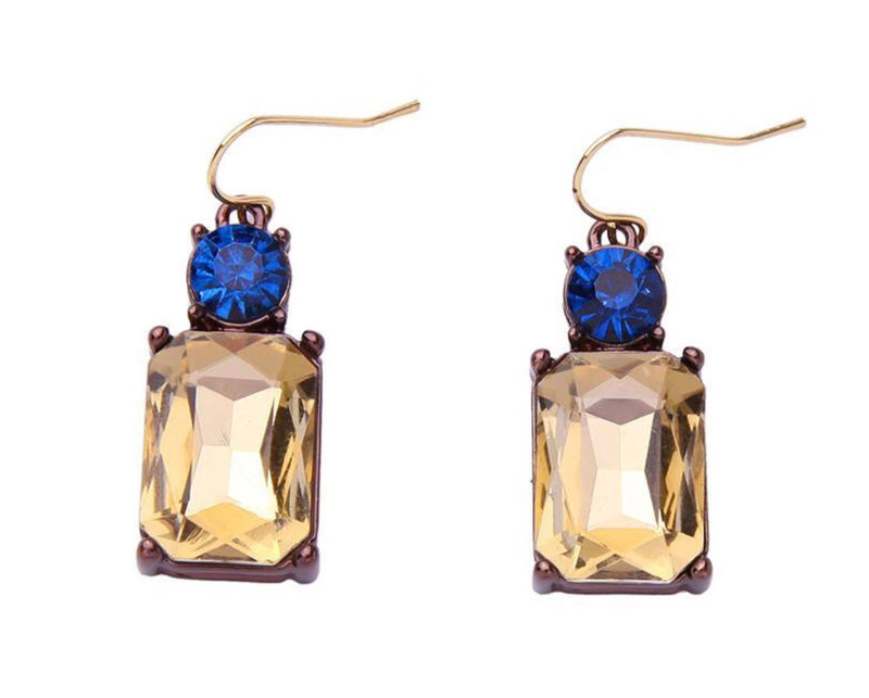 Lisa Glass Gem Earrings