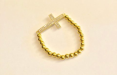 Infinite Silver and Gold Bead Bracelets (5 Designs)