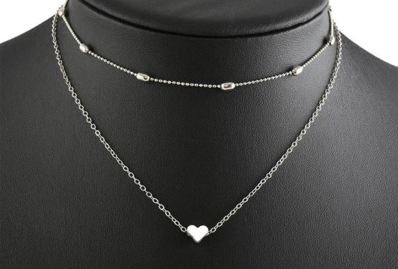 Lovie Silver Choker Necklace