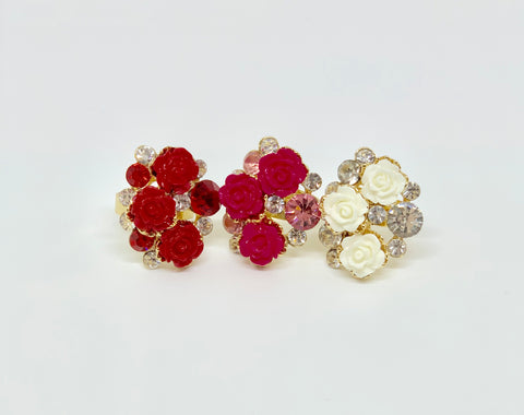 Kin Flower Ring (3 Colors)