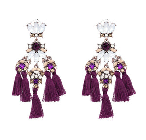 Beatrice Tassel Earrings (6 Colors)