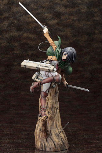Attack on Titan Mikasa Ackerman Renewal Package Ver. Figure