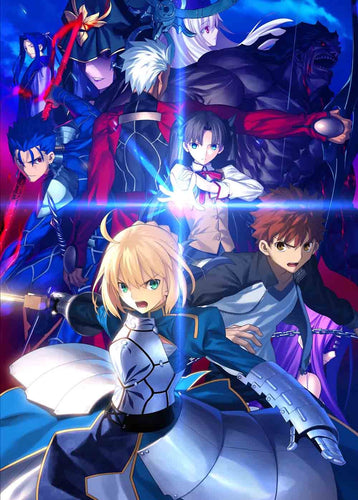Fate / stay night [Unlimited Blade Works] Blu-ray Disc Box I 【Fully Production Limited Edition】