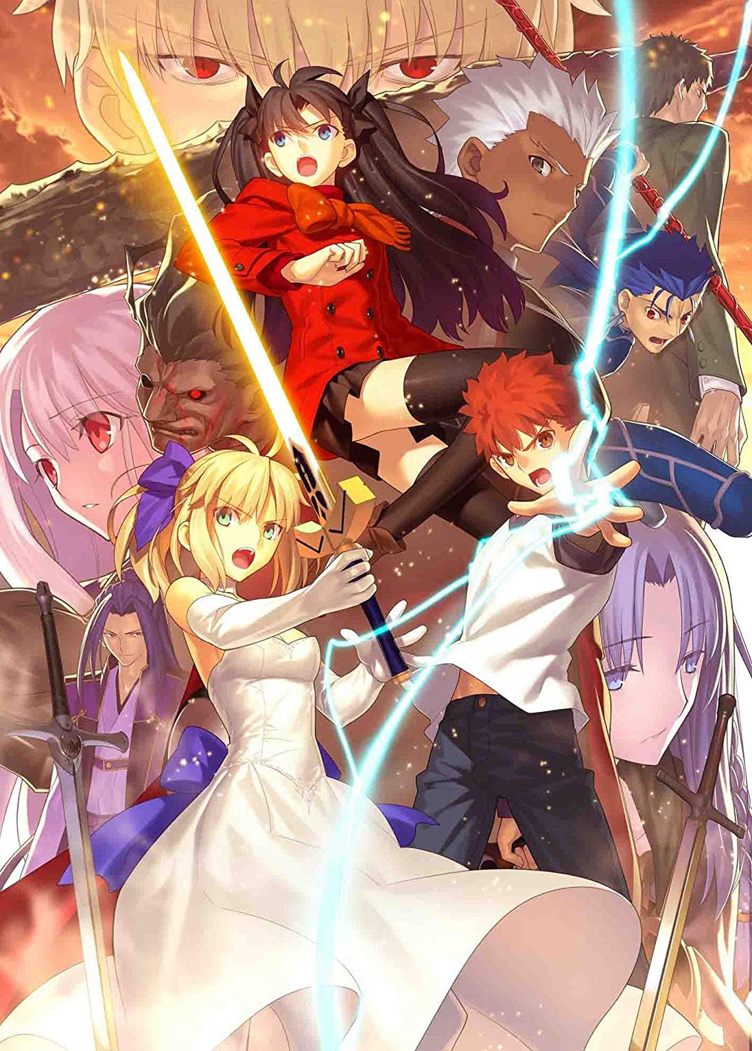 Fate / stay night [Unlimited Blade Works] Blu-ray Disc Box Ⅱ [Fully Production Limited Edition]