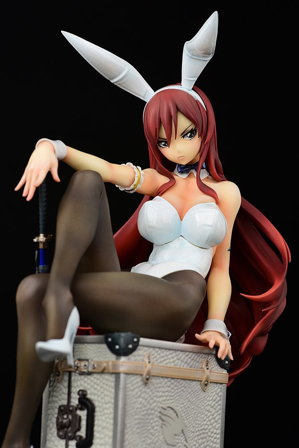 PRE-SALE Erza Scarlet Bunny girl_Style White Figure Fairy Tail