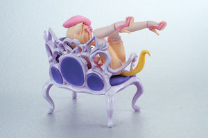 Planet of the Cats Fluffy Cat and Chair 1/8 Complete Figure