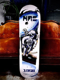 TRIBE SK8Z Nollie Hardflip Pro Model Skateboard Deck