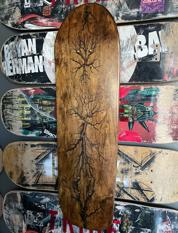 Custom Wall Art - Old School Deck w/ Wall Mount