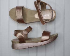 Mady Sandals | Rose Gold