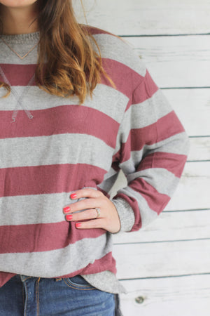 Lucy Sweater | Burgundy