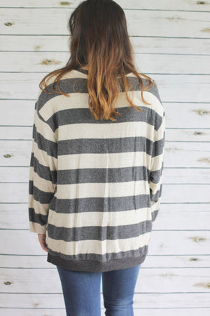 Lucy Sweater | Grey