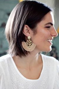 Leo Fringe Earrings