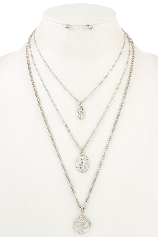 Francis Coin Necklace