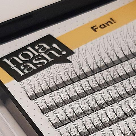Extensiones de pestañas Holalash Fan
