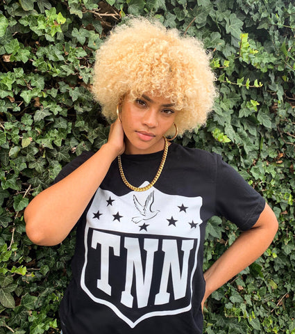 """TNN"" SHIELD LOGO TEE"