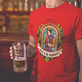 Beer Is For Peasants Wine Shirt - Grape Obsession