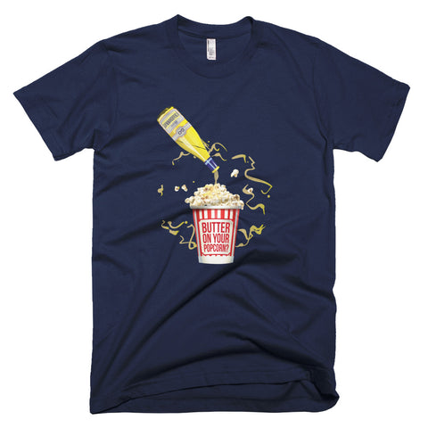 Buttery Chardonnay Wine Shirt - Grape Obsession