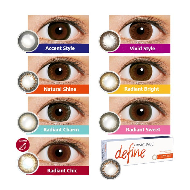 1-Day Acuvue Define - Radiant Chic