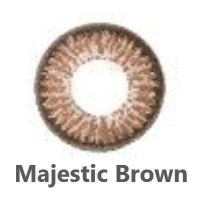 1 Day FreshKon Alluring Eyes - Majestic Brown