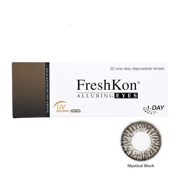 1 Day FreshKon Alluring Eyes - Mystical Black
