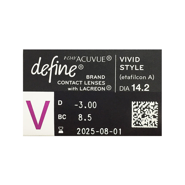 Acuvue Define 1-Day - Vivid Style