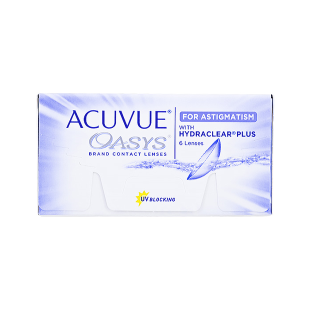 Acuvue Oasys Bi-Weekly for Astigmatism