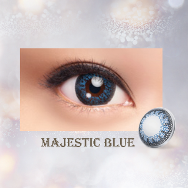 LACELLE Colors 1 Day - Majestic Blue