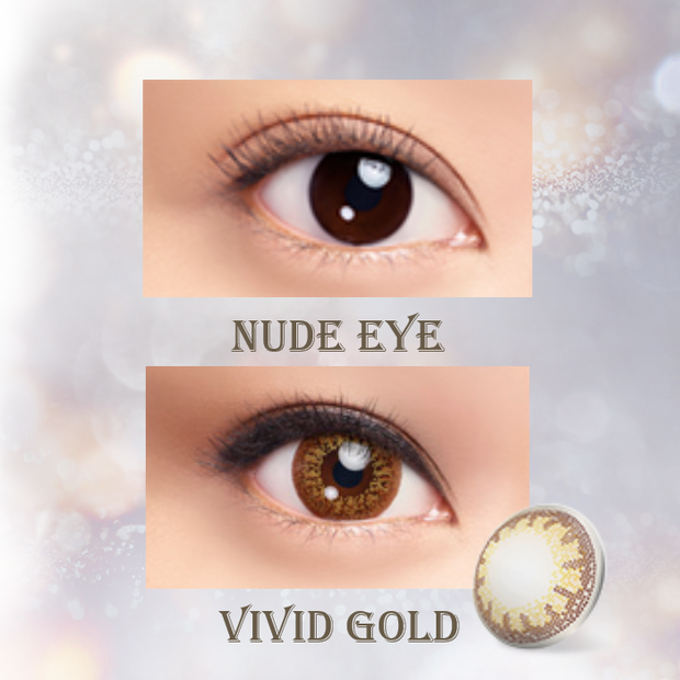 LACELLE Colors 1 Day - Vivid Gold