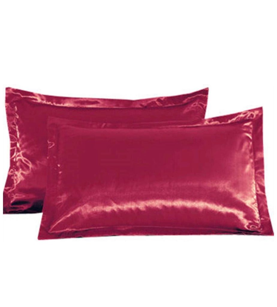 PROTECT THE SLAY SATIN PILLOWCASE (CRIMSON)