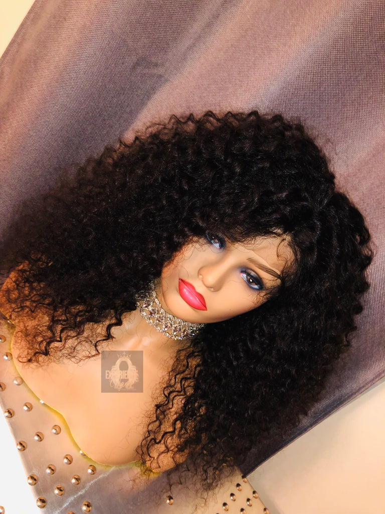 """NICHOLE"" CURLY FULL LACE WIG"