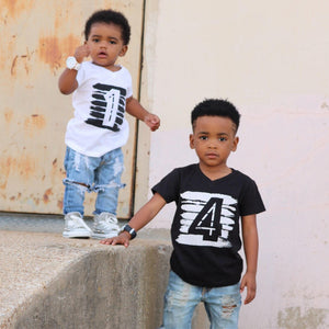 e7d3b63a492 Summer Baby Children T-shirt First Birthday Causal Boy Girl T Shirt Tops Infant  Outfits Toddler Babe Camisetas Photo Costume