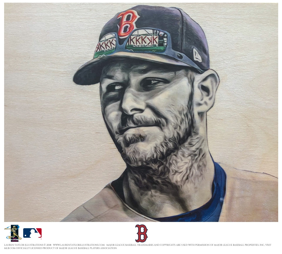 """Sale"" (Chris Sale) Boston Red Sox - Officially Licensed MLB Print"