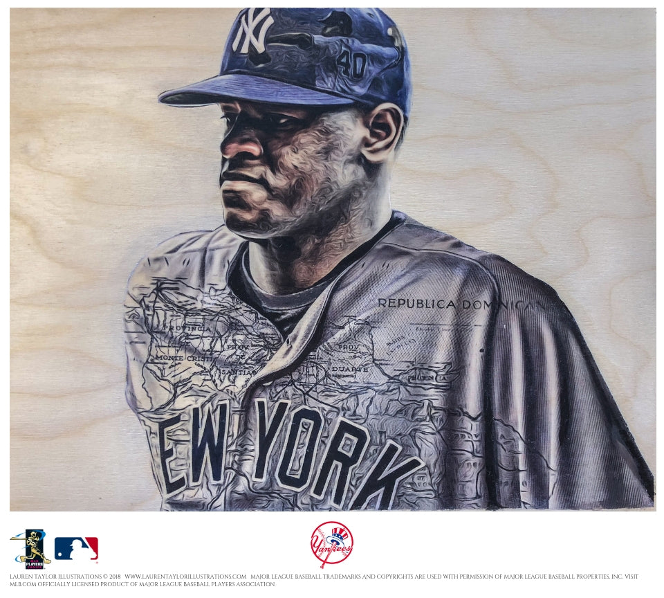 """Severino"" - Officially Licensed MLB Print"