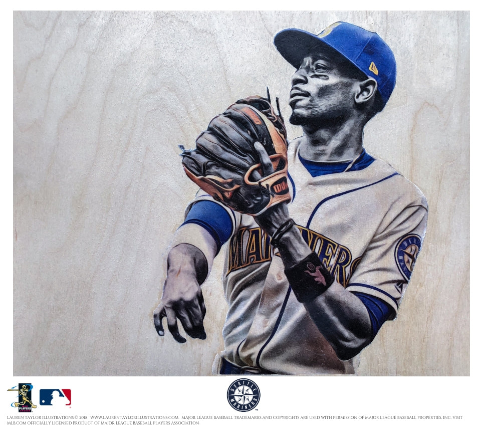 """Dee"" - Officially Licensed MLB Print"