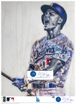 """C-Seag"" (Corey Seager) Los Angeles Dodgers - Officially Licensed MLB Print - BLUE SIGNATURE LIMITED RELEASE /5"