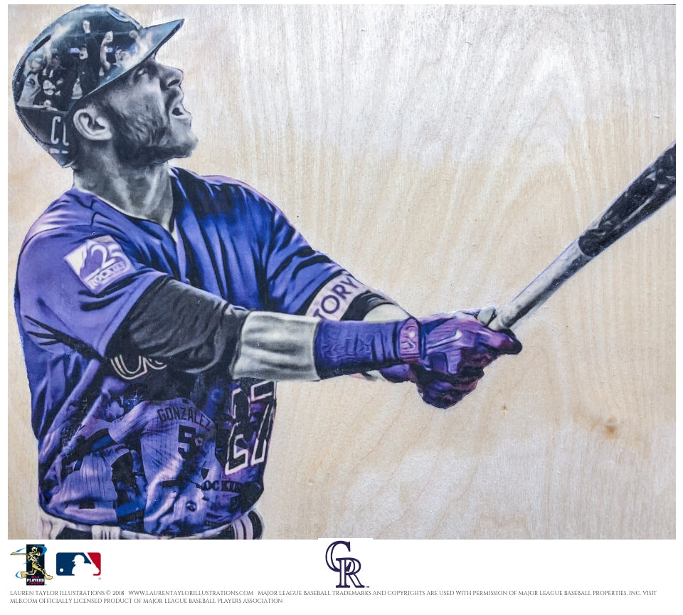 """Story"" - Officially Licensed MLB Print"