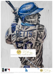 """Welcome to LA"" (Mookie Betts) Los Angeles Dodgers - Officially Licensed MLB Print - GOLD SIGNATURE LIMITED RELEASE /1"