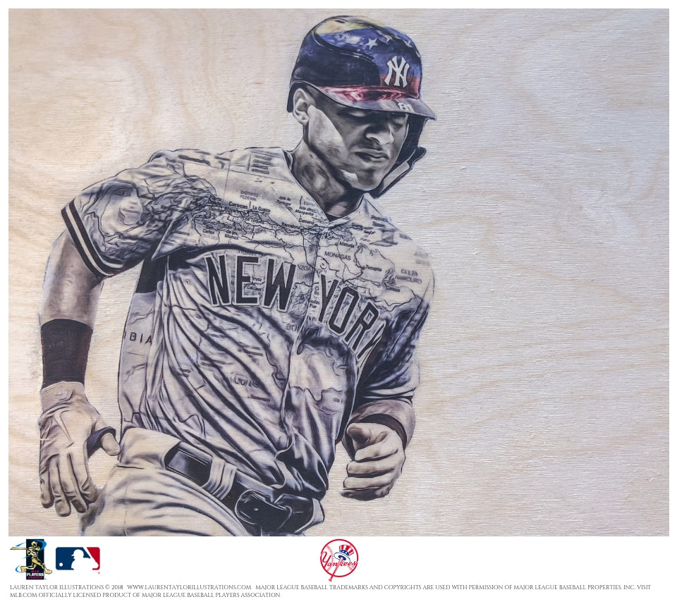 """Torres"" - Officially Licensed MLB Print"