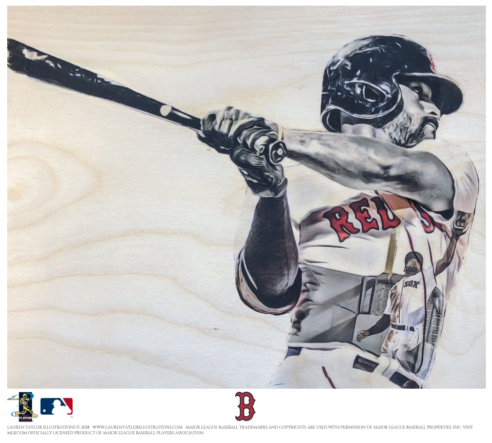 """JBJesus"" - Officially Licensed MLB Print"